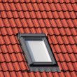 Roof top window — Stock Photo