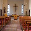 Inside of a church — Stock Photo