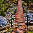 Stock Photo: Broken bridge