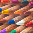 Color pencils macro — Stock Photo