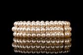 Pearl bracelet — Stock Photo
