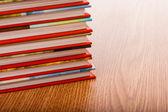 Book pile — Stockfoto