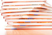 Book pile — Stock Photo