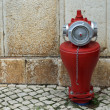 Hydrant - Red Fire Cock — Stock Photo #32943193