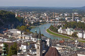 River Salzach in Salzburg, — Stock Photo