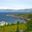 Fjord coastline — Stock Photo