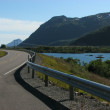 Norwegian highway — Stock Photo