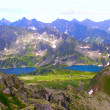 Mountain lakes — Stock Photo