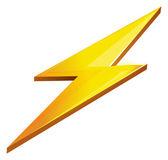 Lightening Bolt — Stock Vector