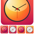 Clock Icon — Stock Vector #33583897