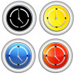 Clock Icon — Stockvektor #33583919