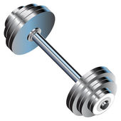 Vector dumbbell — Stock Vector
