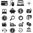 Icon Set - Banking and Finance — Stock Vector