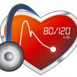 Blood Pressure Monitoring — Foto de stock #34148413