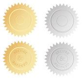 Foil Stamp Seal - Illustration — Vecteur