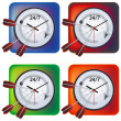 Time Management Illustration — Stock Vector