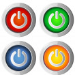 Power On & Off Icon — Stock Vector