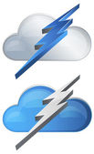 Super Fast Cloud Technology — Vecteur
