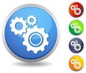 Icon-Setting — Stock Vector