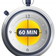 Stock Vector: Timer Icon - 60 Minutes