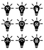 Creative Icon Set — Stock Vector