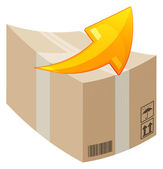 Consignment Delivery — Stock Vector