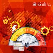 Resumo de contador de desempenho — Fotografia Stock