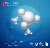 Science Abstract Background — Cтоковый вектор