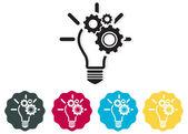 Icon - Idea Development — Stock Vector