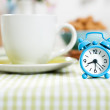 Blue alarm clock — Stock Photo #33337817
