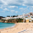 Albufeira beach in Western Portugal — Stock Photo