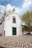 Igreja local em alte, portugal — Fotografia Stock