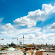 Bird view over Central Berlin  — Stock Photo