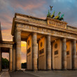 Brandenburg Gate in Berlin — Stok Fotoğraf #33354805