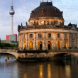 Bode Museum in Berlin — Stock Photo