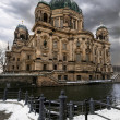Berlin Cathedral in winter — Stock Photo #33356877