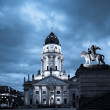 German Cathedral on Gendarmenmarkt — Stock Photo #33357601