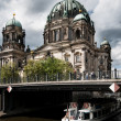 Berlin Cathedral on river Spree — Stock Photo