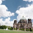 Berlin Cathedral in spring — Stock Photo