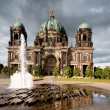 Berlin Cathedral after storm — Stock Photo