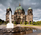 Berlin Cathedral or Berliner Dom — 图库照片