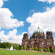 Berlin Cathedral in spring — Stock Photo #33361371