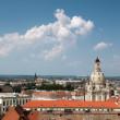 Aerial view of Old Dresden — Stock Photo