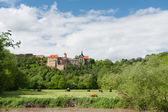 German historical castle in spring — Stock Photo