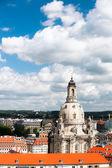 Bird view of Frauenkirche — Stock Photo