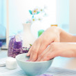 Preparation for manicure — Stock Photo