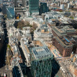 London, aerial view over the City — Stock Photo #33378921