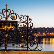Charles Bridge at Dawn, detail — Stock Photo