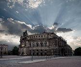 Dresden Opera Theatre — Stock Photo