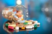 Variedade de pílulas — Foto Stock